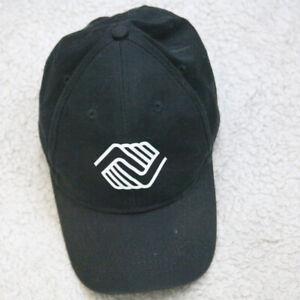 Port & Company Hat Black White Kids Strap Back Boys & Girls Club 1 Size OSFA Cap