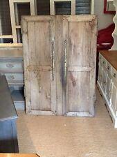 Antique French Oak Reclaim 18th Century Cupboard Doors