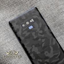 SopiGuard 3M Black Camo Vinyl Sticker Skin Rear Panel Wrap for Samsung Note 9