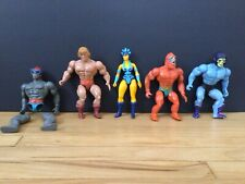 vintage he-man motu action figures lot Action Figures and accessories