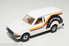 CORGI TOYS FORD ESCORT 55 VAN DUNLOP WHITE NEAR MINT CONDITION