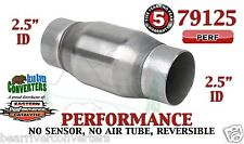 "79125 Eastern Universal Catalytic Converter Performance 2.5"" Pipe 4.75"" Body"