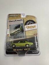 1:64 Greenlight 1968 Chevrolet Nova SS Vintage Ad Cars by Raceface-Modelcars