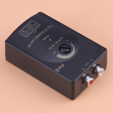 Car Audio RCA Speaker High To Low Level Line Output Converter+Harness