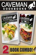 USED (LN) Paleo Grilling Recipes and Raw Paleo Recipes: 2 Book Combo (Caveman Co