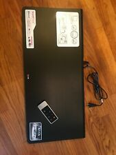 LG LAP340 SoundPlate Bluetooth and WiFi Built in woofer With Remote