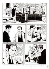 """CORRADO ROI  - Dylan Dog n.126 """"La morte rossa"""" p.51"""
