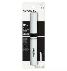 Covergirl Lid Lock Up Quick Dry Eye Shadow Primer 100 Universal Clear 0.2fl oz