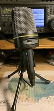 W2ENY Mini Studio Desk Mic for Icom Kenwood Yaesu Flex Alinco TenTec Elecraft