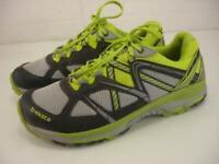 Treksta Evolution 161 Mens 8 M Trail Running Shoes Green Gray Sneakers Hypergrip