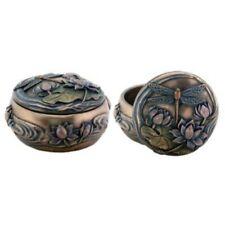 New! Dragonfly Jewelry Keepsake Box Figurine Desk Art Nouveau Colorful Gift 7859