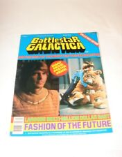 Battlestar Galactica Official Photo magazine #2 vintge 70's 1118