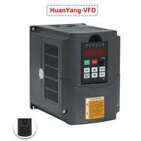 AC220V 3kW Variateur de Fréquence VFD Monophasé 13A Vitesse Contrôleur Inverseur