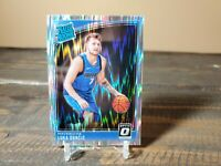Luka Doncic 2018-19 Donruss Optic Shock Prizm #177 - RC - Mavericks - Mavs MVP