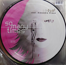 """GADJO ! feat. ALEXANDRA PRINCE - SO MANY TIMES part 2 - 10"""" PICTURE DISC VINYL"""