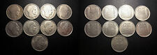 IVème République - lot de x9 10 Francs Turin, millésimes différents !