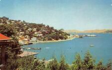 SAUSALITO, CA Marin County San Francisco Bay California c1950s Vintage Postcard
