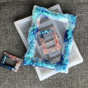 DIY Photo Frame Silicone Mold For UV Epoxy Resin Molds Jewelry Tool