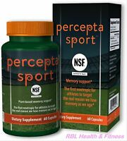 PERCEPTA SPORT Plant-Based Memory Support Nootropic - NSF Certified -60 capsules