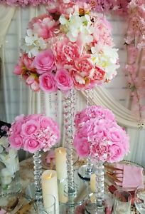 Crystal Table Center Pieces for HIRE,  Wedding Centerpieces hire, 20 Available