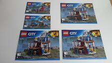 LEGO CITY !! INSTRUCTIONS ONLY !! FOR 60174 MOUNTAIN POLICE STATION