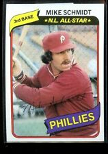 1980 TOPPS #270 MIKE SCHMIDT PHILLIES NM/MT D016988