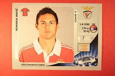 PANINI CHAMPIONS LEAGUE 2012/13 N. 468 MATIC BENFICA BLACK BACK MINT!