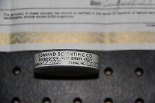 """Edmund Scientific Optical Flat Mirror 2"""" 1/20 Wave"""