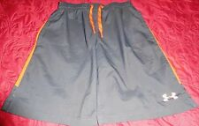 """""""Under Armour"""" UNISEX Sz S Loose Pop A Shot Basketball,Soccer Shorts Black/Red"""