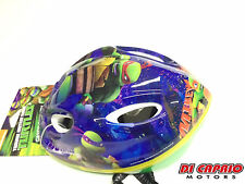 Casco Bici MTB Bambino Bimbo Tartarughe Ninja Turtles Tg. 52/56 cm Originale