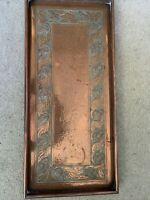 Keswick School of Industrial Arts Arts & Crafts Handmade Beaten Copper Tray Z162