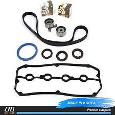 Engine Timing Belt Kit & Valve Cover Gasket Fits 01-03 Kia Rio 1.5L 1.6L A5D A6D