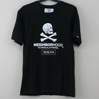 Neighborhood Japan Mens Medium Tokyo Spell Out Black Made In Japan T-Shirt P78