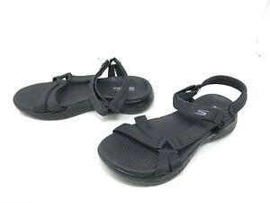 Womens Skechers (15316) ON THE GO 600 BRILLIANCY Black sandals   209T