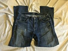 7 For All Mankind Austyn Relaxed Straight Leg Jeans in Ashworth  Size 34 X 31