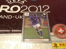 #338 Mario Balotelli Italy Panini Euro 2012 PLATINUM EDITION sticker Man City