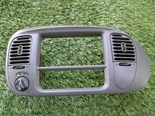 1998-2002 FORD EXPEDITION F150 RADIO TRIM BEZEL GRAY OEM SEE PHOTO R1