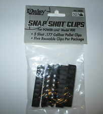 Daisy Snap Shot Clips for POWER LINE 853C-900-953-917 5 Shot .177 Pellets Clips
