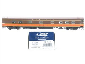 "HO Scale Rapido 104048 IC Illinois Central 10-5 Sleeper Passenger ""Destrehan"""