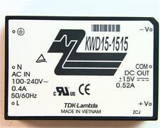 1 X TDK-Lambda KWD 15 15 15, 15w 2 output, Interruttore Modalità Alimentazione ± 15v ± 520ma