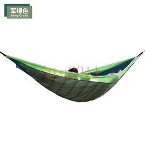 New Length Hammock Underquilt Ultralight Camping Hiking Under Quilt Warm Blanket
