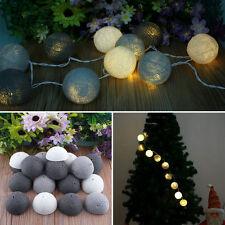 20 Baumwolle Kugel Aladin LED Kreative Fee String Licht Party Patio Dekoration