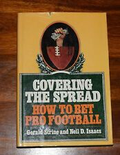 COVERING THE SPREAD HOW TO BET PRO FOOTBALL GERALD STRINE HC DJ SIGNED COPY**