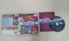 Disney Sing IT Family Hits PS3 Sony PS3 Game