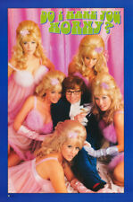 Poster: Movie Repro: Austin Powers - Do I Make You Horny? Free Ship #2390 Rw6 R