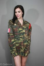 Rare French Lizard Pattern Combat Jacket Salamandre Div W/ Wings 1 Rima Marine