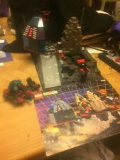 LEGO LUNAR LAUNCH SITE 6959 Set w/ Box Spyrius 3 minifig raised baseplate space