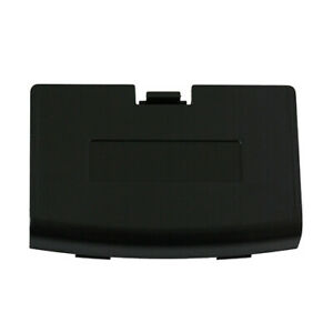 Nintendo GBA BLACK Console Battery Door Cover Replacement New (Gameboy Advance)
