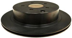 Disc Brake Rotor-Non-Coated Rear ACDelco 18A1665A