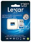 Lexar 128GB 128G 633x 95MB/s Micro SDXC MicroSD Class10 UHS-I  Card Reader